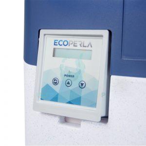 Intuicyjny panel sterujący w zmiękczaczu wody Ecoperla Slimline CS