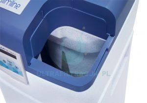 zbiornik na sól regeneracyjną w zmiękczaczu wody Ecooperla Slimline