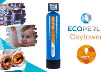 usuwanie żelaza i manganu z Ecoperla Oxytower
